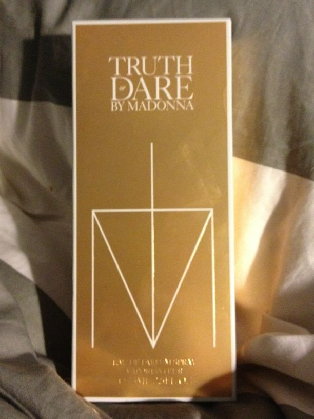 MADONNA EXCLUSIVE! Truth or Dare…Madonna's NEW Fragrance! REVIEW…